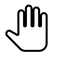 Hand by Line Icons Pro from the Noun Project